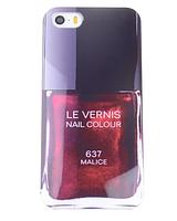 Силиконовый чехол лак для ногтей LE VERNIS №637 CHANEL для Iphone 6/6S