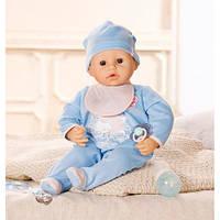 Интерактивная кукла с мимикой мальчик Baby Annabell Zapf Creation 792827