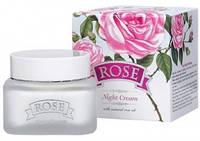 Ночной крем ROSE с розовым маслом Bulgarska Rosa