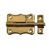 "Шпингалет ""Gold"", 3 шт., 60 мм, d 7 мм"