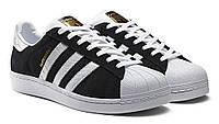 Кроссовки, Adidas Superstar Black/White 2