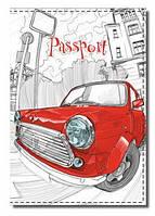 Оригинальная обложка на паспорт fp-191