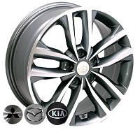 Литые диски Replica Mazda (BK846) R18 W7.5 PCD5x114.3 ET40 DIA67.1 (GP)