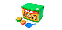Детская игровая Кухня с посудой.Микроволновая печь