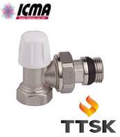Угловой нижний клапан  ICMA (арт. 805+940)