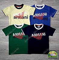 Брендовая футболка для мальчика Армани Armani