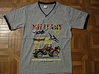Детские хлопковые футболки для мальчиков 98-128 см Турция