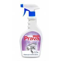 Жидкость для чистки ванны Prava, распылитель, 0,5 л