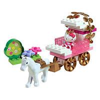 Конструктор Карета с Принцессой Hello Kitty 57044