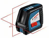 Линейный лазерный нивелир (построитель плоскостей) Bosch GLL 2-50 + вкладка под L-Boxx (0601063104)