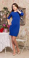 Платье женское  Prada мини синий