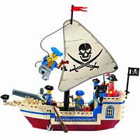 Конструктор Brick Пираты 304 Пиратский корабль