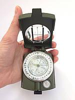 Портативный жидкостный компас в металлическом корпусе (инженерный)
