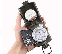 Портативный ручной компас KONUS K4074  в металлическом корпусе (инженерный)