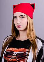 Кэт. Весенние женские шапки. Красный.