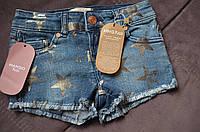 Модные джинсовые шорты Манго для девочки