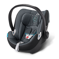 Детское автомобильное кресло переноска Aton Q BLACK SEA черно - синее CYBEX 515104115
