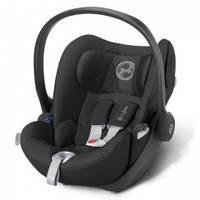 Детское автомобильное кресло Cloud Q  Black Beauty-black черный  CYBEX 515140071