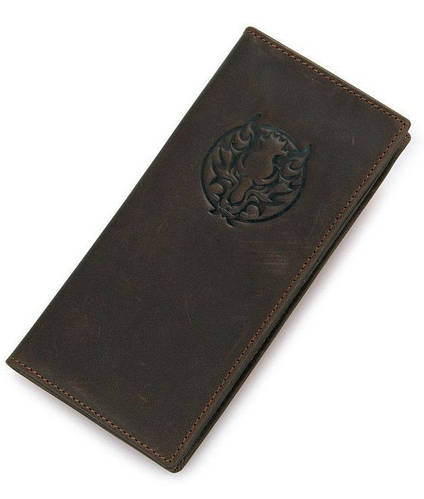 Кожаное эксклюзивное мужское портмоне  TIDING BAG 8013-1Q