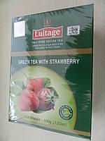 Зеленый Чай с клубникой