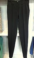 Молодежные женские брюки с застроченной стрелкой