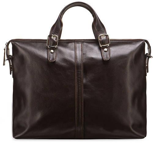 Удобная  кожаная сумка BLAMONT BN004C
