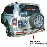Защитная дуга заднего бампера Mitsubishi Pajero Wagon III (2000 - 2006)