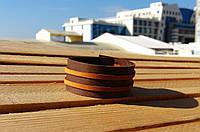 Браслет аксессуар мужской кожаный Smet от BRUTAL (Hand Made)