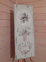 Часы ручной работы в стиле Прованс настенные