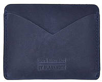 Маленький кейс-портмоне из натуральной кожи BlankNote BN-KK-5-nn ночное небо