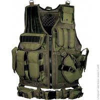 Разгрузочный Жилет Leapers Law Enforcement Tactical Vest, green (PVC-V547GT)