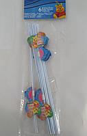 Трубочки для напитков Винни Пух