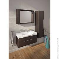 Мебель Для Ванной Комнаты И Зеркала Буль-Буль Long Step Comfort, венге (ПLSC-В)