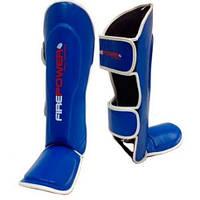 Защита голеностопа FirePower  SGFP3 Blue для тайского бокса