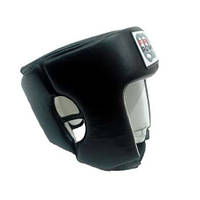 Шлем боксерский FirePower FPHG2 Black Leather