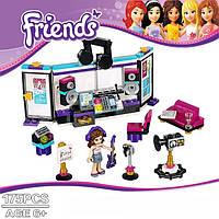 Конструктор friends. Студия звукозаписи (аналог LEGO 41103)