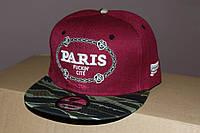 Кепка с прямым козырьком Париж Камуфляж