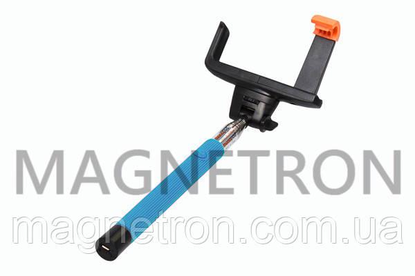 Монопод для селфи со встроенным Bluetooth L=235-1060mm Z07-5-BLUE, фото 2