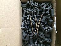 Дюбель для гипсокартона с шурупом (бабочка) Обрий ГК - 10 3,5х60 (100 штук в упаковке)