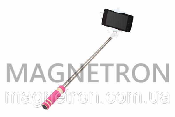 Селфи-монопод для смартфона L=140-500mm MINI-PINK, фото 2