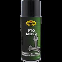 Антиржавчина  для авто KROON OIL  PTO MoS2 — антикоррозионный спрей 400 МЛ.KL40016