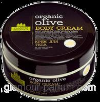 """Крем для тела на масле оливы Organic Olive """"Planeta Organica"""" для глубокого увлажнения"""