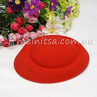 Основа для шляпки-таблетки 13 см, красный