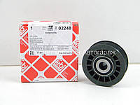 Паразитный ролик (ребристый) ремня генератора на Мерседес Спринтер 2.9 TDI 1995-2000 FEBI (Германия) 02248