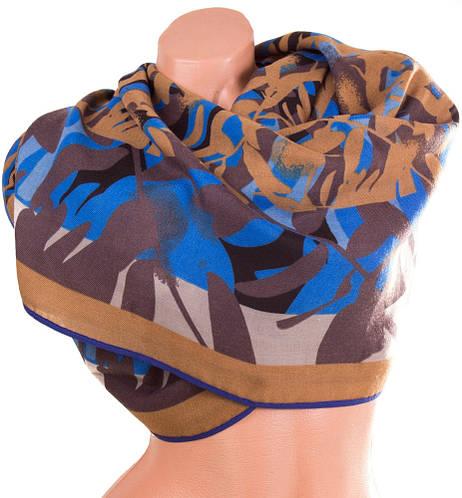 Великолепный женский хлопковый шарф 186 на 76 см.  ETERNO (ЭТЭРНО) ES1405-3-5