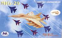 Деревянные 3D пазлы, модель истребителя Миг-29