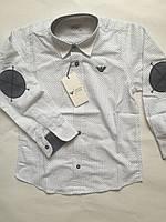 Рубашка в горох, детская 110-152