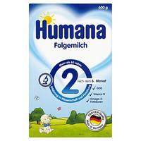 Детская молочная смесь для дальнейшего кормления HUMANA 2