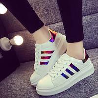 Стильные женские кроссовки. 5 моделей, разные цвета
