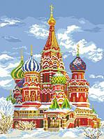 Рисунок на канве для вышивки нитками мулине 50693 Храм